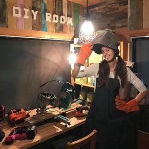 森泉 DIY
